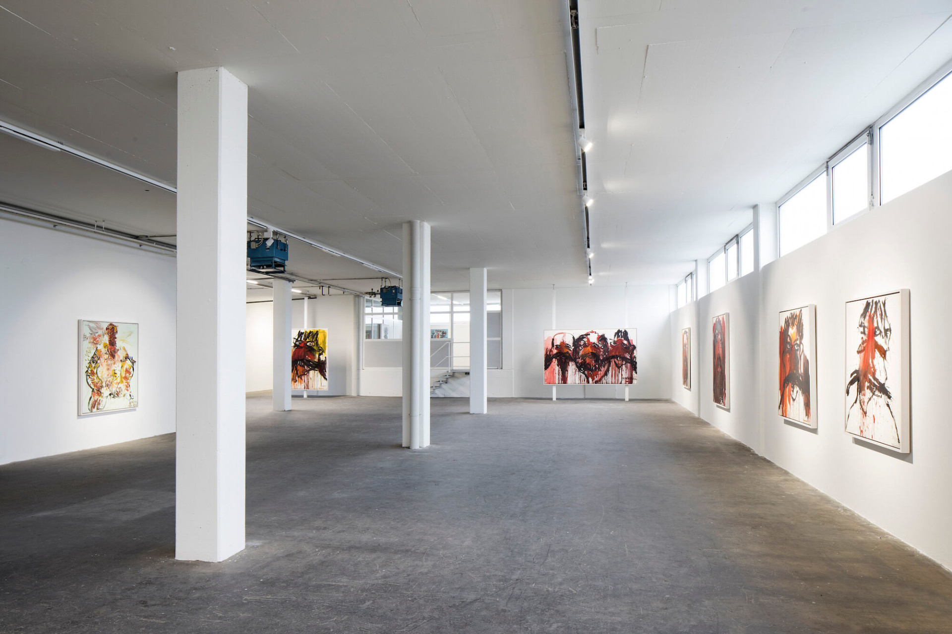 EBENSPERGER RHOMBERG Muehl: Potraits Installation Views